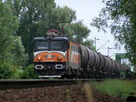 MMV Asea with freight in Gyor on 2010 by MorpheusPhotoworks