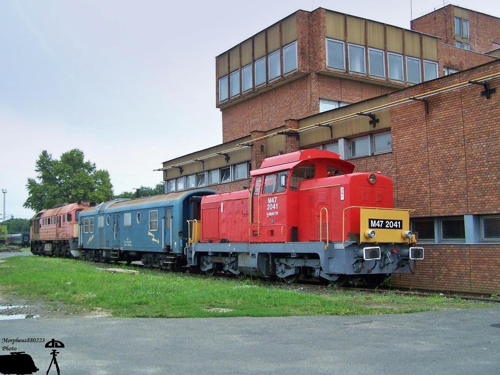 M47 2041 in Szombathely depot by morpheus880223