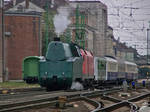 242 Steam engine and 1116 with nostalgia train