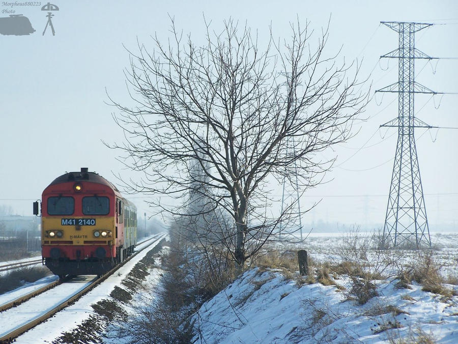 M41 2140 with passenger train by morpheus880223