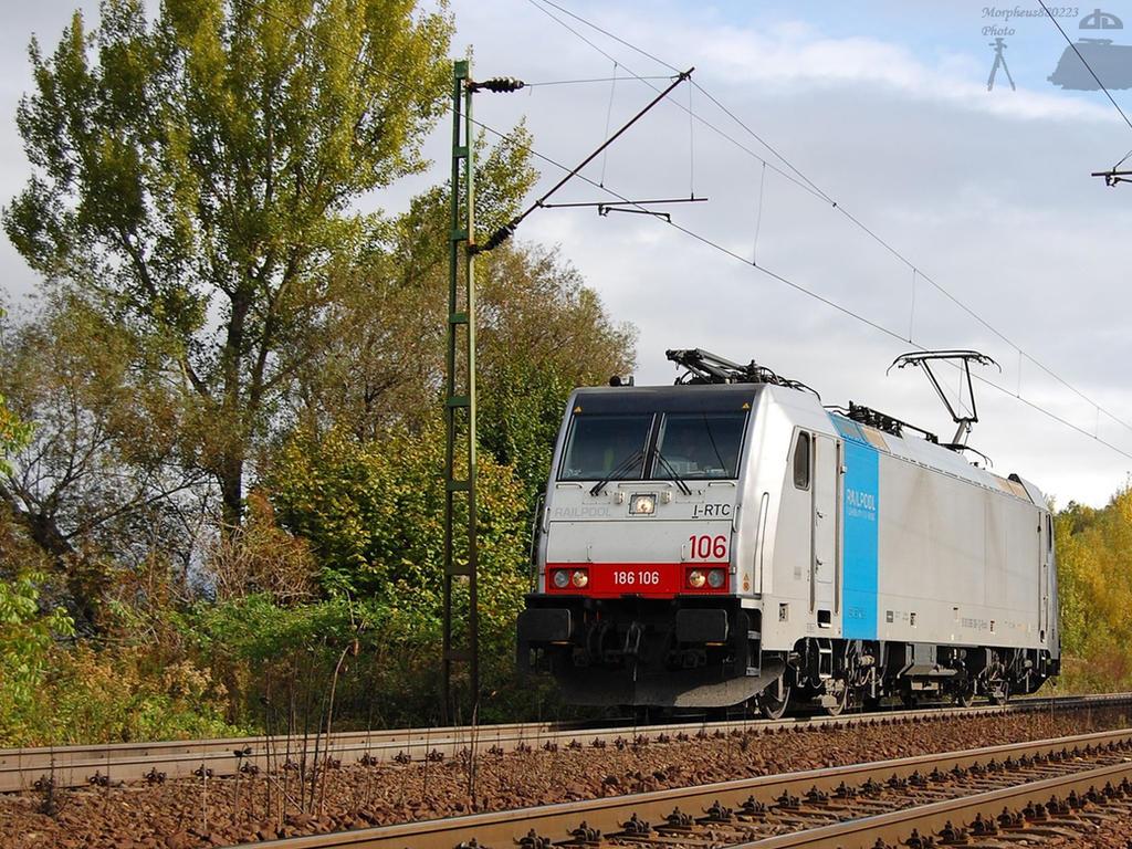 186 106 Railpool Traxx -Gyor by morpheus880223