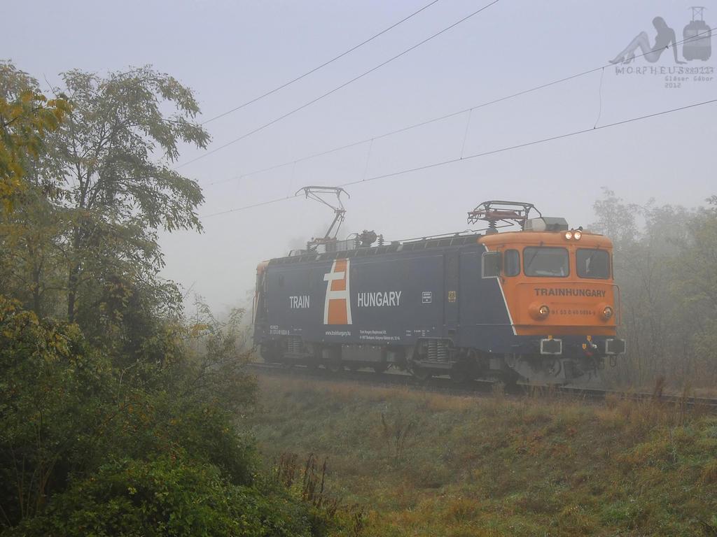 40 0884-9 in fog in Hegyeshalom by morpheus880223
