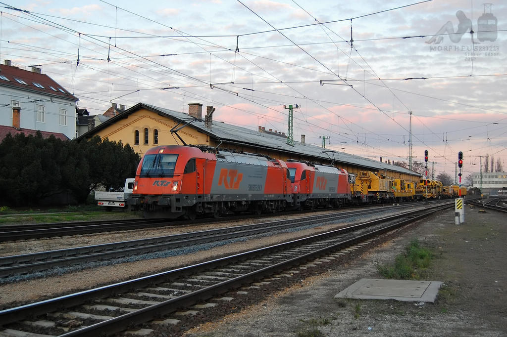 1216 901 and 903 in Gyor station by morpheus880223