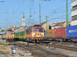 418 310 with a passenger train in Gyor - 2016 by MorpheusPhotoworks
