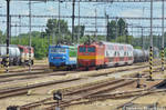 263 005 and 242 543 in Komarno station -2017-