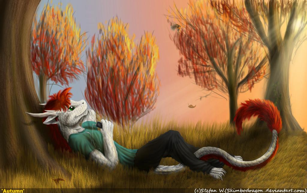 Autumn by SkimboDragon