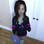 Lil Paige 13yrs 'Off to school'