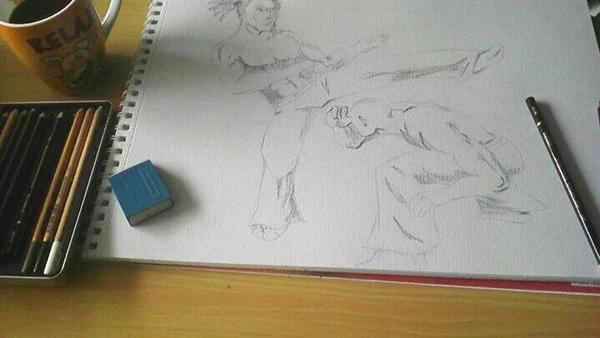 some Capoeira by Wiesi78