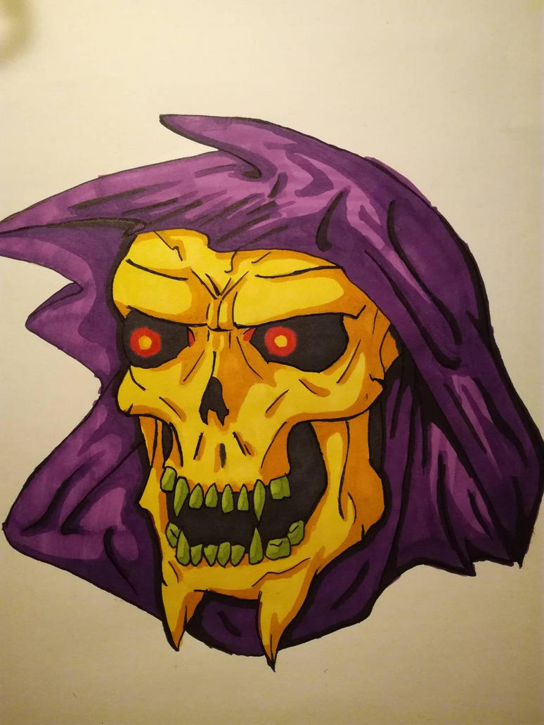Skeletor by Wiesi78