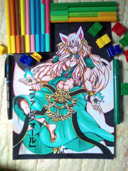 Valefor (Manga Coloring)