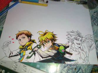The Seven Deadly Sins - (wip) by baby8stef