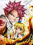 Natsu x Lucy Fairy Tail (scanned)