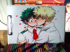How to kiss Deku 101 by baby8stef