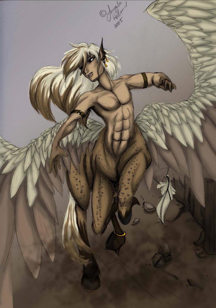 centaur by LaTopazora