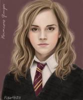 Emma as Hermione by pichu4850