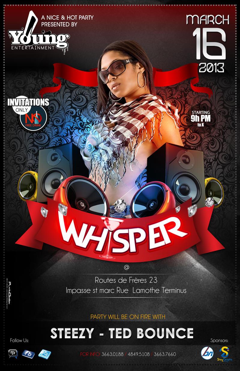 Whisper Flyer Coming Soon by PlatiniDesign on DeviantArt