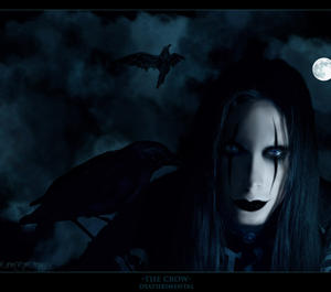 The Crow by deathrimental