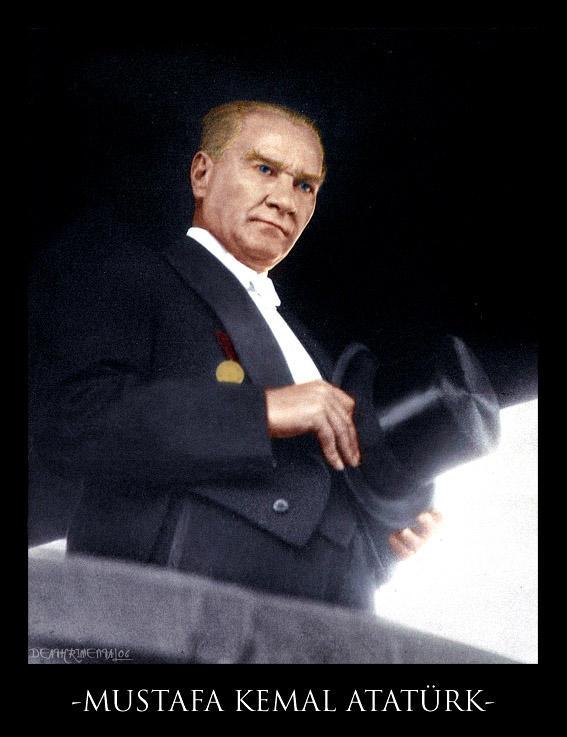 Mustafa Kemal Ataturk by deathrimental