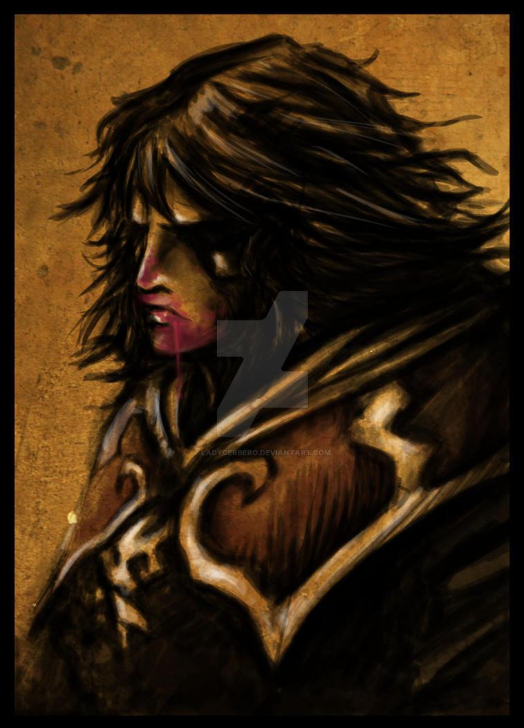 Gabriel portrait by LadyCerbero