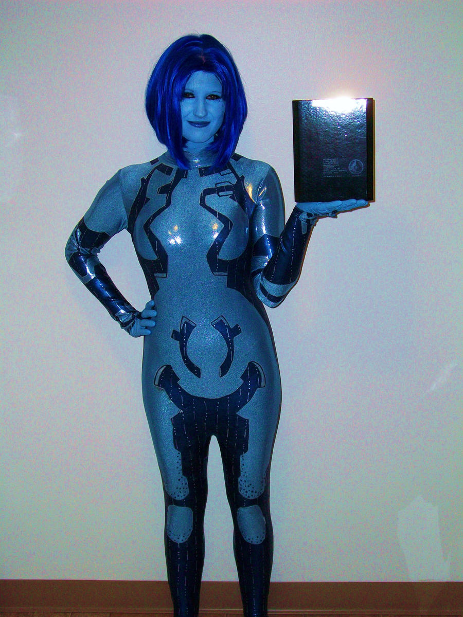 My Cortana cosplay-Still a WIP by BexiButton