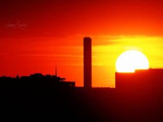 Le coucher de soleil by Lethalxr0se