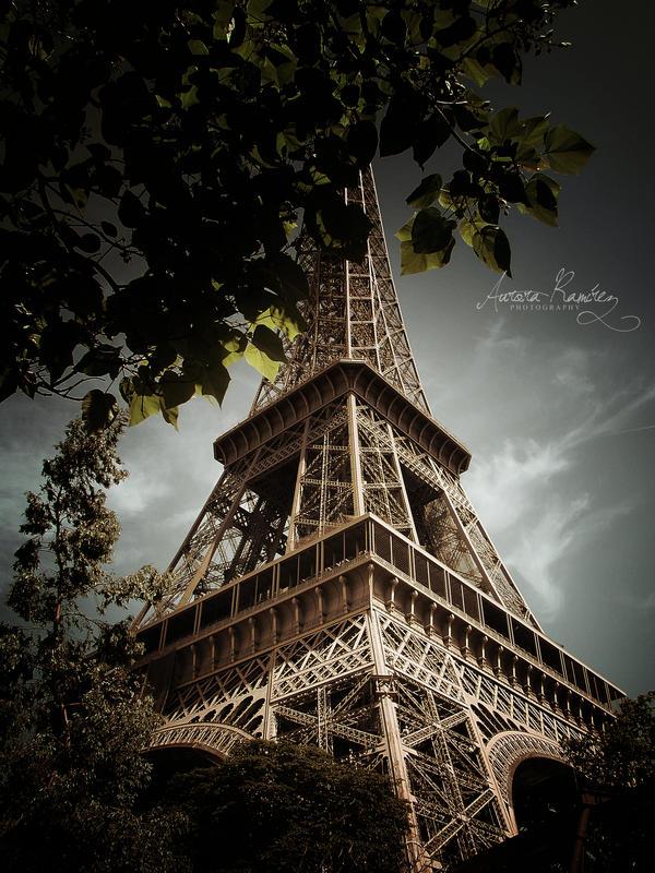 La Tour Eiffel by Lethalxr0se