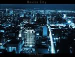 ..Mexico City Nightscape..