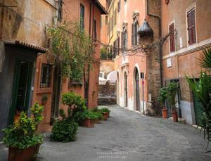 Via  in Piscinula , Roma