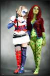 Poison Ivy and Harley Quinn- Arkham Asylum