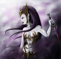 Witch Elf by Catherine-OC