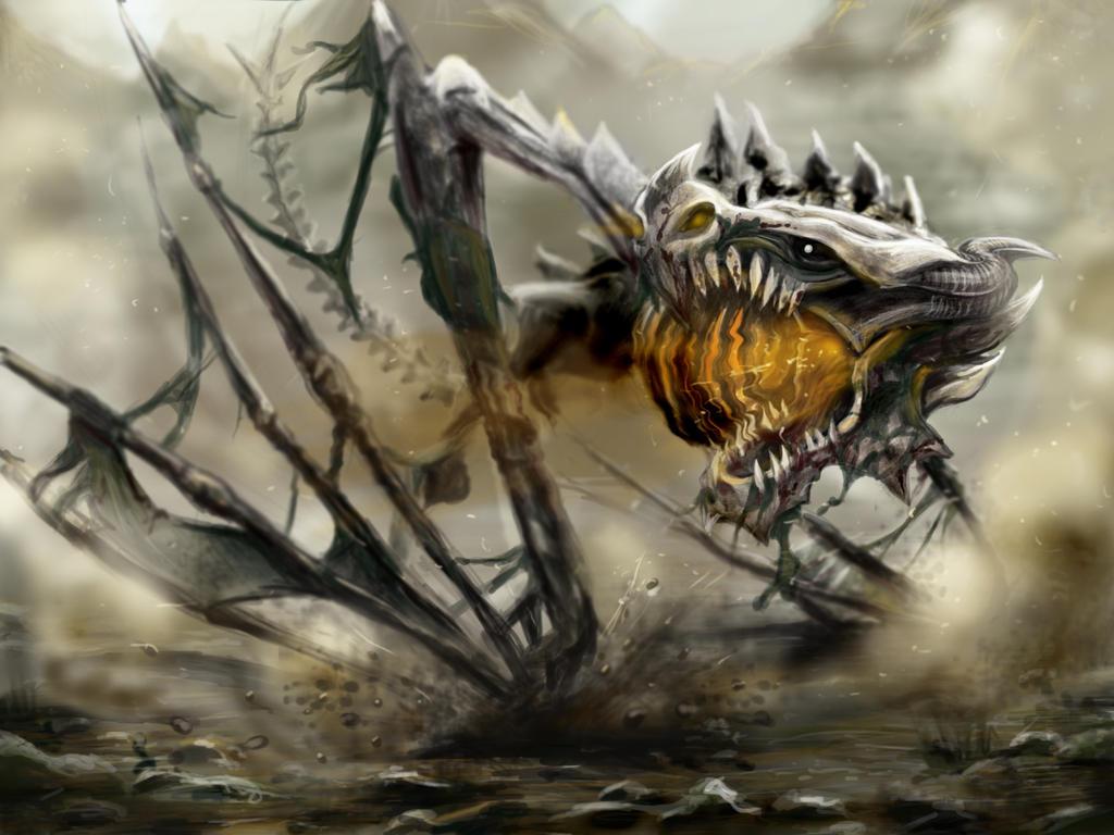 Dragon esqueleto  Zombie_dragon_by_catherine_oc-d4nztwy