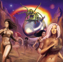 Invasion of the Spider Queen Cover