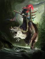 Kroq-Gar on Grimloq by Catherine-OC