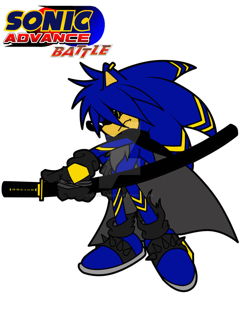 sonic fan character 2 des the dark king by