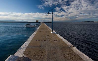 Quay in Greece by merrie91