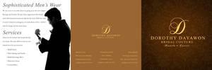 Dorothy Dayawon Brochure by gelmaniquis