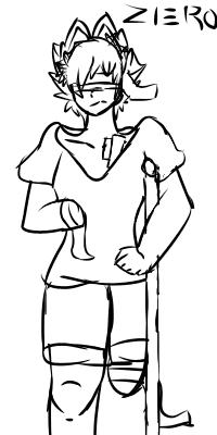 Zero Sketch by BounceKat