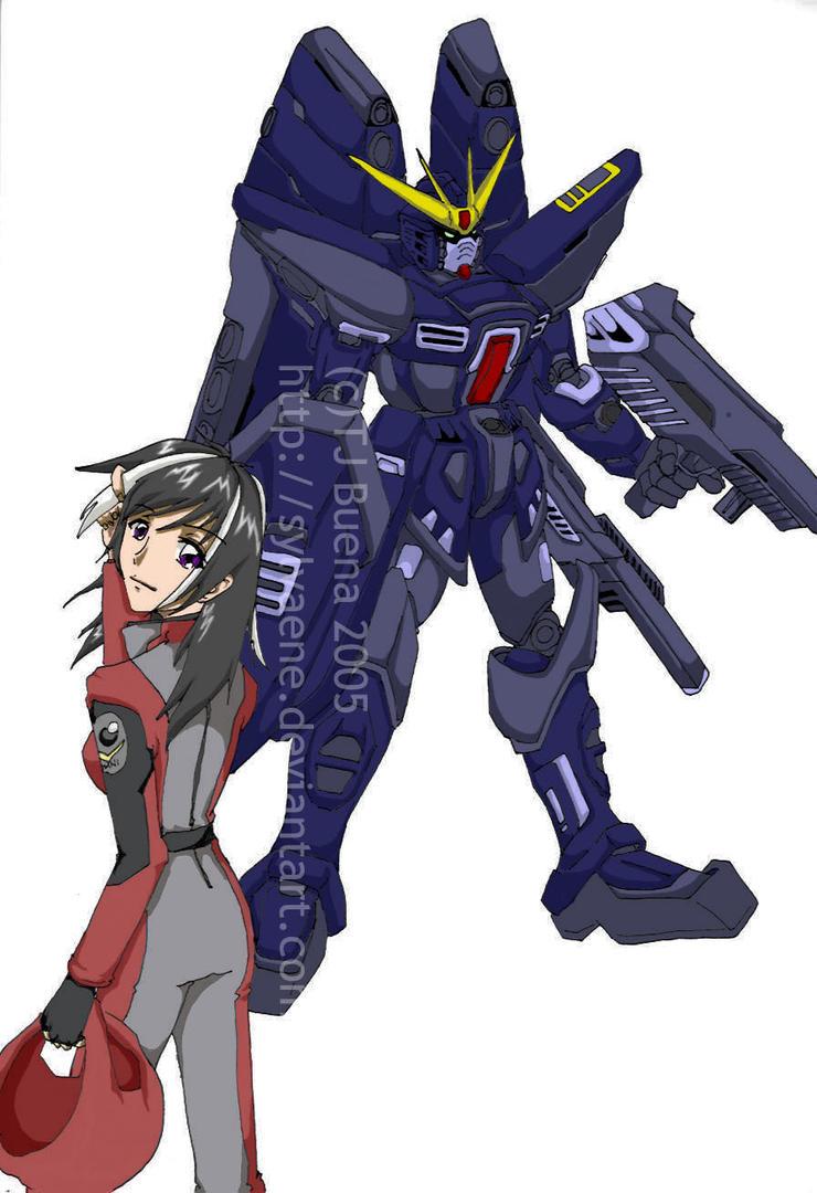 A Girl's Gundam by Sylvaene
