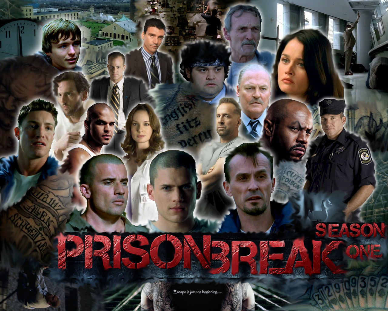 Prison Break Season 1 List Of Characters What Episode Do Holly J