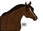 First pixel horse by AgnethaArt