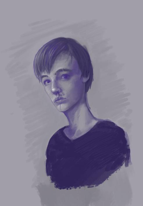 Just a boy by Jepix