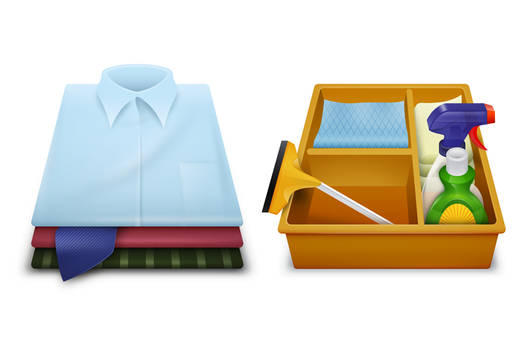Home-Cleaning Icons