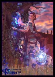 High Castle Druidess by Lady-Akyashaa