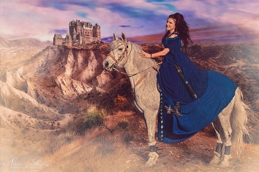 Warrior Queen And Her Horse