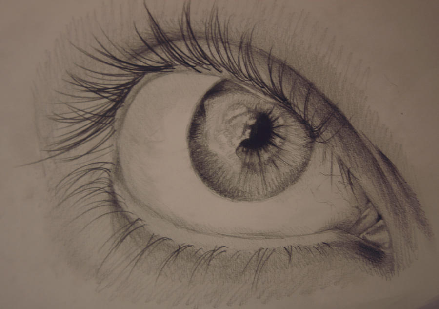 Another Eye Study by RecklessPadfoot