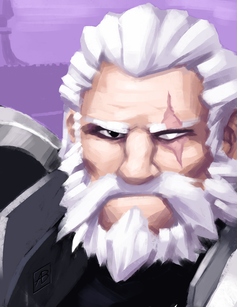 Reinhardt Paint Practice by art-blaster