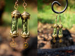 SOLD Deadly Nightshade Steampunk Jewelry #5