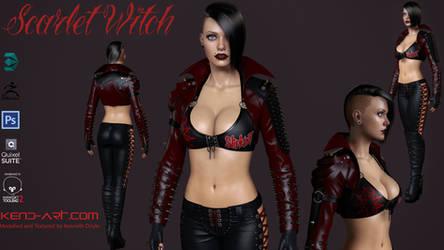 Scarlet Witch by kdoyle9