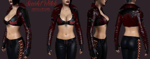 Scarlet Witch Torso Shots by kdoyle9