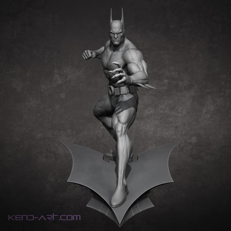 Bruce Wayne Batman Beyond Front by kdoyle9